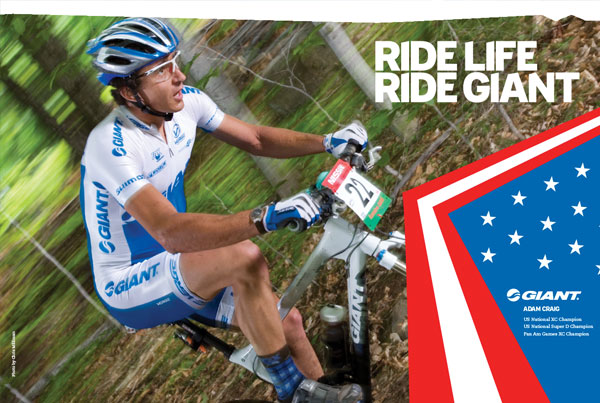 Giant . Adam Craig's National Championship Poster-Kit
