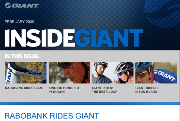 Giant . Global Email Campaign