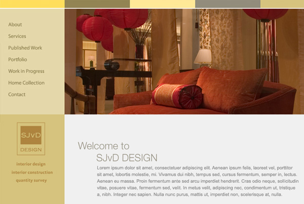 Sjvd Design . Website
