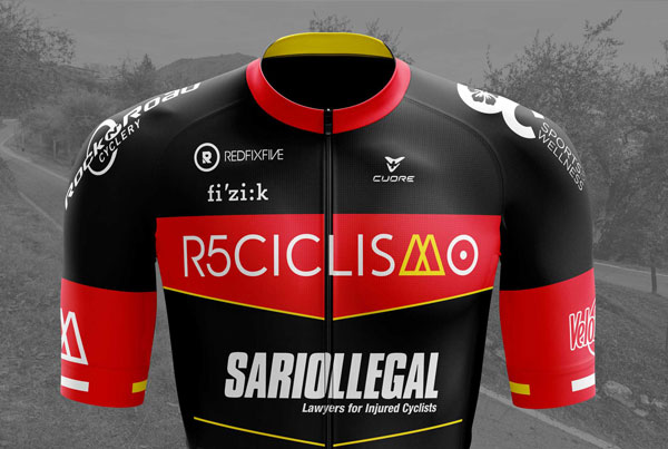 R5Ciclismo 2019 Team Clothing